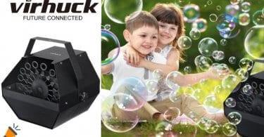 oferta Ma%CC%81quina de burbujas Virhuck barata SuperChollos