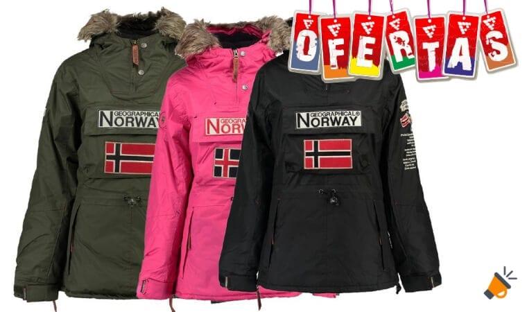 oferta Cazadora Geographical Norway barata SuperChollos