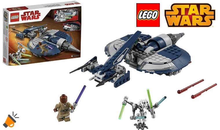 oferta LEGO Star Wars Speeder de Combate del General Grievous barato SuperChollos
