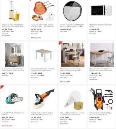 ofertas Home Week de eBay2 SuperChollos