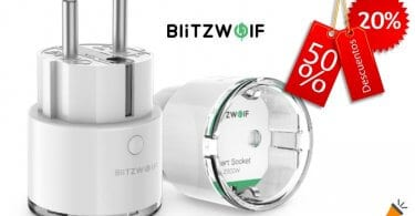 oferta Enchufe inteligente BlitzWolf BW SHP6 barato SuperChollos