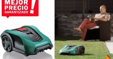 ofrta Bosch Indego 350 Cortace%CC%81sped robot barato SuperChollos