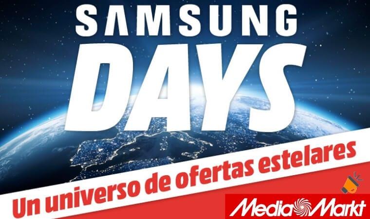 oferta Samsung Days en MediaMarkt SuperChollos