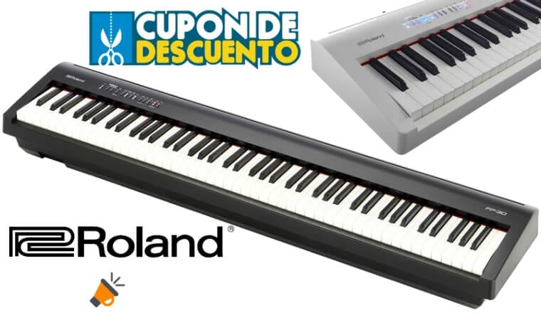 oferta ROLAND FP 30 DIGITAL PIANO barato SuperChollos