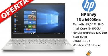 oferta HP Envy 13 ah0005ns Ordenador barato SuperChollos