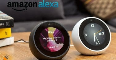 oferta Amazon Echo Spot Altavoz inteligente barato SuperChollos