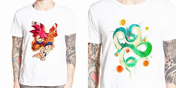 camisetas dragon ball chollo SuperChollos