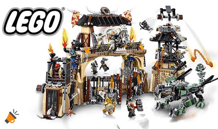 oferta LEGO Ninjago Pozo del drago%CC%81n barato SuperChollos