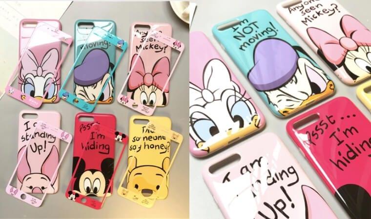 oferta Pack Carcasa protector de pantalla Disney para iPhone barata SuperChollos