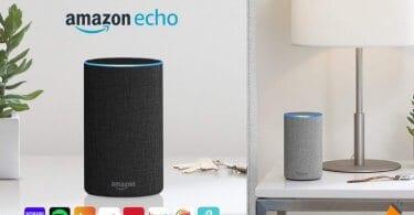 oferta Amazon Echo 2.%C2%AA generacio%CC%81n Altavoz inteligente barato SuperChollos