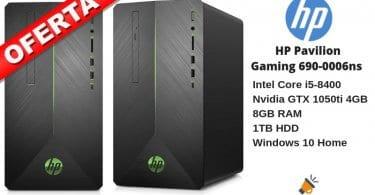 oferta HP Pavilion Gaming 690 0006ns Ordenador barato SuperChollos