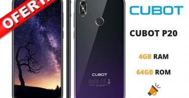 oferta Cubot P20 smartphone barato SuperChollos