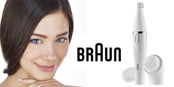 Depiladora facial Braun 820 Face barato SuperChollos