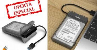 oferta Carcasa USB 3.0 Maiwo K104 barata SuperChollos