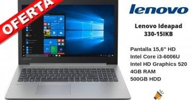 oferta Lenovo ideapad 330 15IKB Ordenador barato SuperChollos