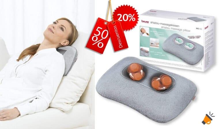 oferta Beurer MG 145 Almohada de masaje barata SuperChollos