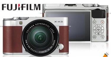 oferta Fujifilm X A3 Camel Ca%CC%81mara Evil barata SuperChollos