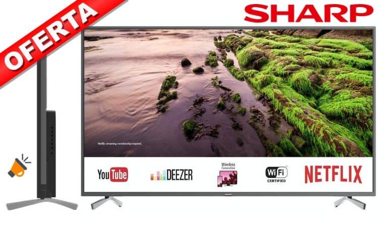 oferta Smart TV Sharp LC 55UI8652E barata SuperChollos