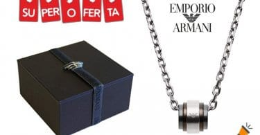 oferta Emporio Armani Collar barato SuperChollos
