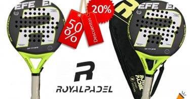 oferta Royal Padel EFE Carbon pala barata SuperChollos