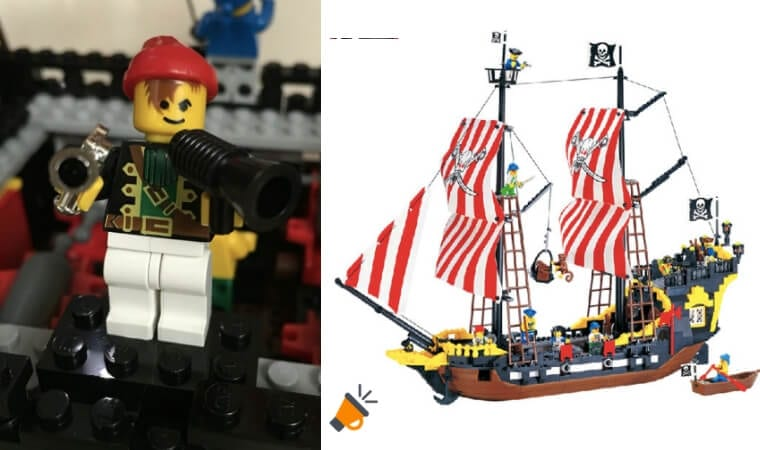 oferta Barco pirata estilo LEGO barato SuperChollos