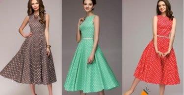 oferta Vestido vintage para mujer barato SuperChollos