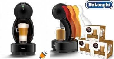 oferta DeLonghi Dolce Gusto Colors EDG355.B1 Cafetera de ca%CC%81psulas barata SuperChollos