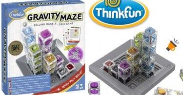 oferta Juego de habilidad ThinkFun Gravity Maze barato SuperChollos
