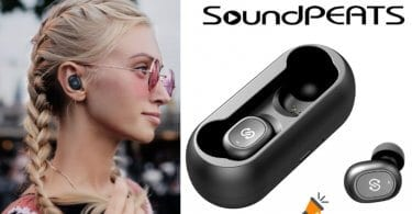 oferta Auriculares inala%CC%81mbricos SoundPeats TrueFree baratos SuperChollos