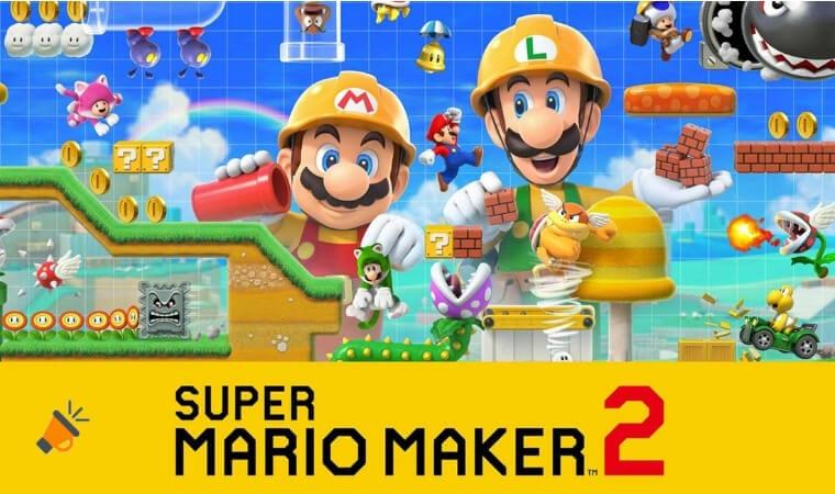 oferta Super Mario Maker 2 para Nintendo Switch barato SuperChollos