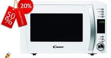 oferta Candy CMXG22DW Microondas barato SuperChollos