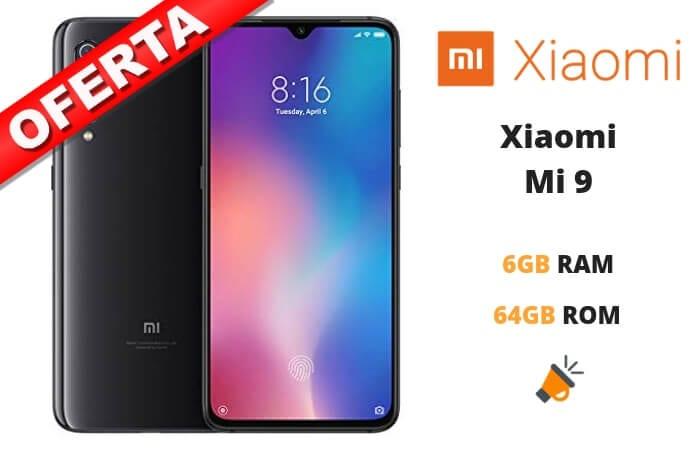 oferta Xiaomi Mi 9 barato SuperChollos