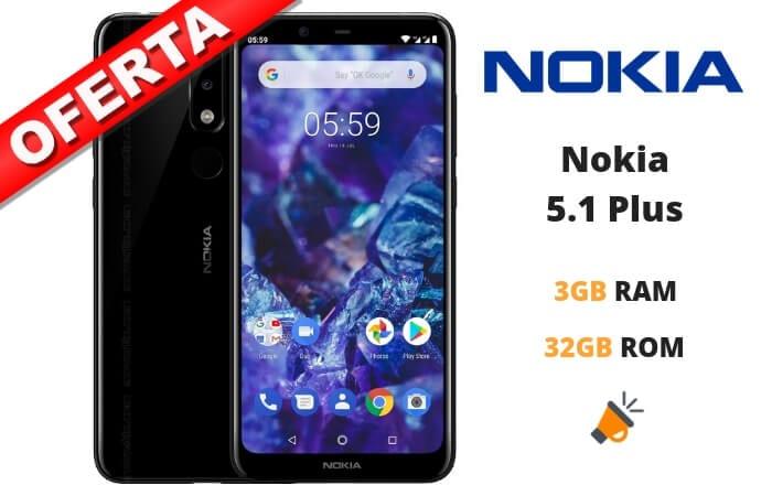 oferta Nokia 5.1 Plus barato1 SuperChollos