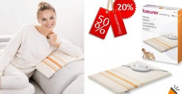oferta Beurer HK 25 Almohadilla electro%CC%81nica barata SuperChollos