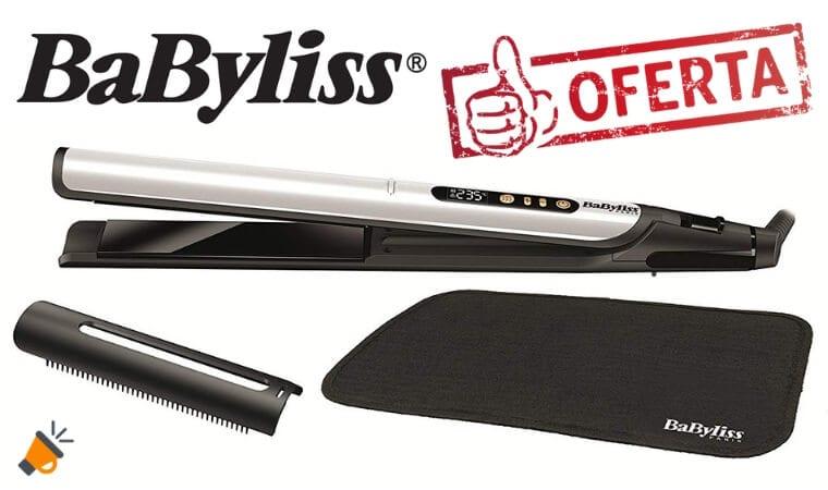 oferta BaByliss ST455E Plancha de pelo barata SuperChollos