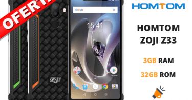 oferta HOMTOM ZOJI Z33 barato SuperChollos