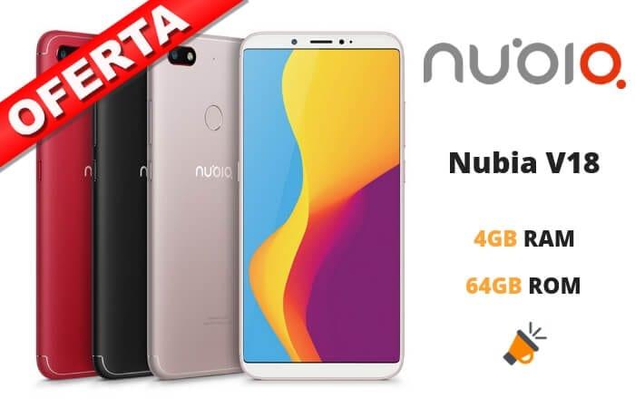 oferta Nubia V18 barato SuperChollos