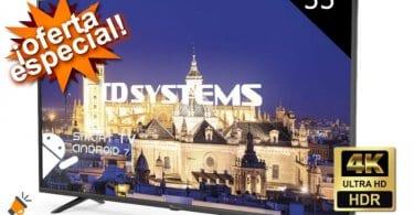 oferta TD Systems K55DLY8US smart tv barata SuperChollos