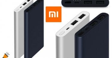oferta Xiaomi 10000mAh powerbank barata SuperChollos