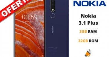 oferta Nokia 3.1 Plus barato SuperChollos