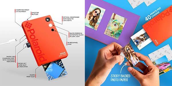 camara fotos polaroid mint impresora oferta SuperChollos