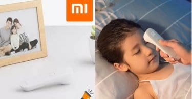 OFERTA Termo%CC%81metro de infrarrojos Xiaomi Mi Home iHealt BARATO SuperChollos