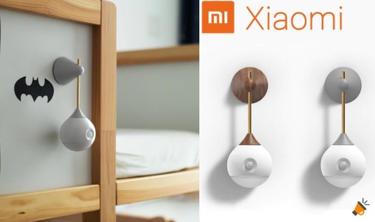oferta Mini La%CC%81mpara LED Xiaomi Mijia barata SuperChollos