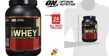OFERTA Optimum Nutrition Gold Standard BOTE PROTEINAS BARATO SuperChollos