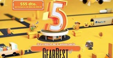 ofertas 5%C2%BA Aniversario Gearbest SuperChollos