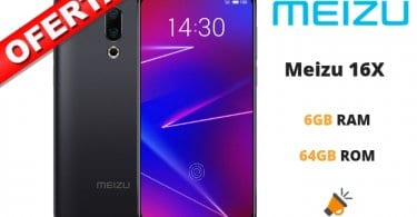 oferta Meizu 16X barato SuperChollos