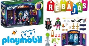 oferta Cofre Casa Encantada de Playmobil barato SuperChollos
