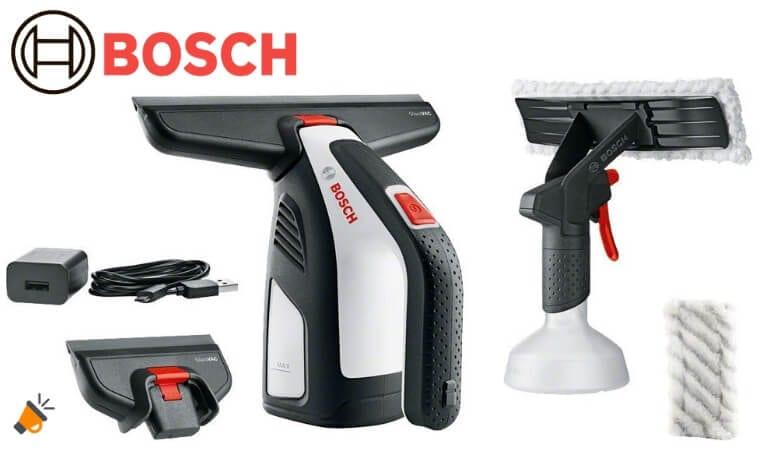 oferta Bosch GlassVAC Limpiacristales barato SuperChollos
