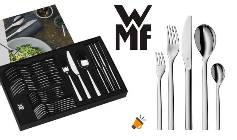 OFERTA WMF Atria Cuberteri%CC%81a de acero inoxidable BARATA SuperChollos