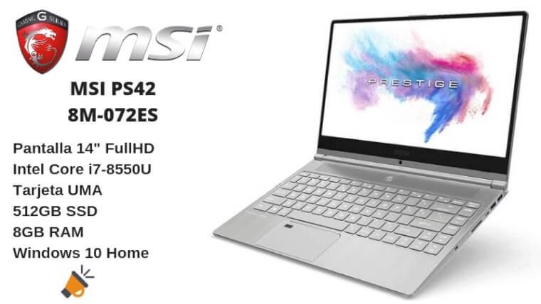 oferta MSI PS42 8M 072ES barata SuperChollos
